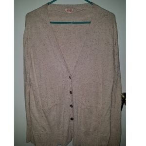 Large Mossimo Speckled Cardigan